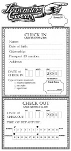 check in form small 5