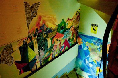 egy vendég festményei