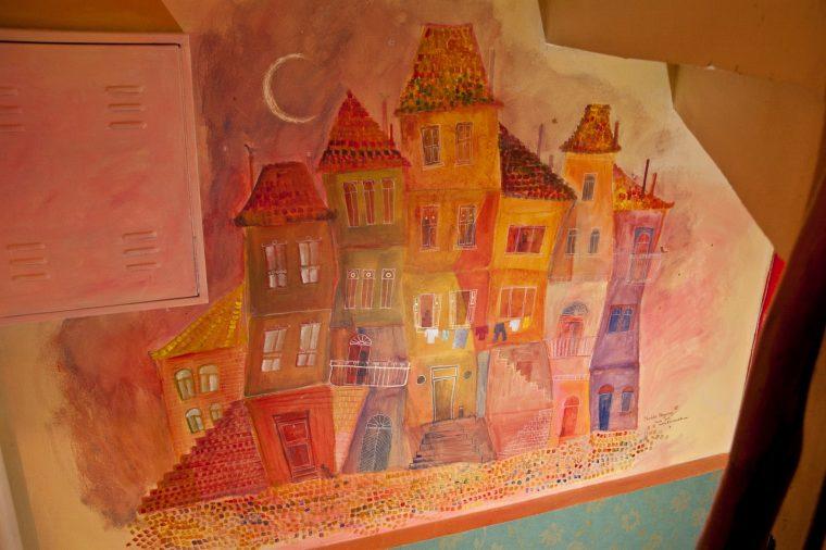 Isztambul: Tarlabasi festmény