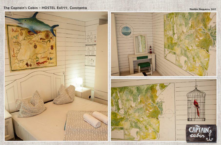 Hostel dekoracio